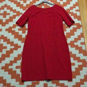 Red 10P Talbots Dress